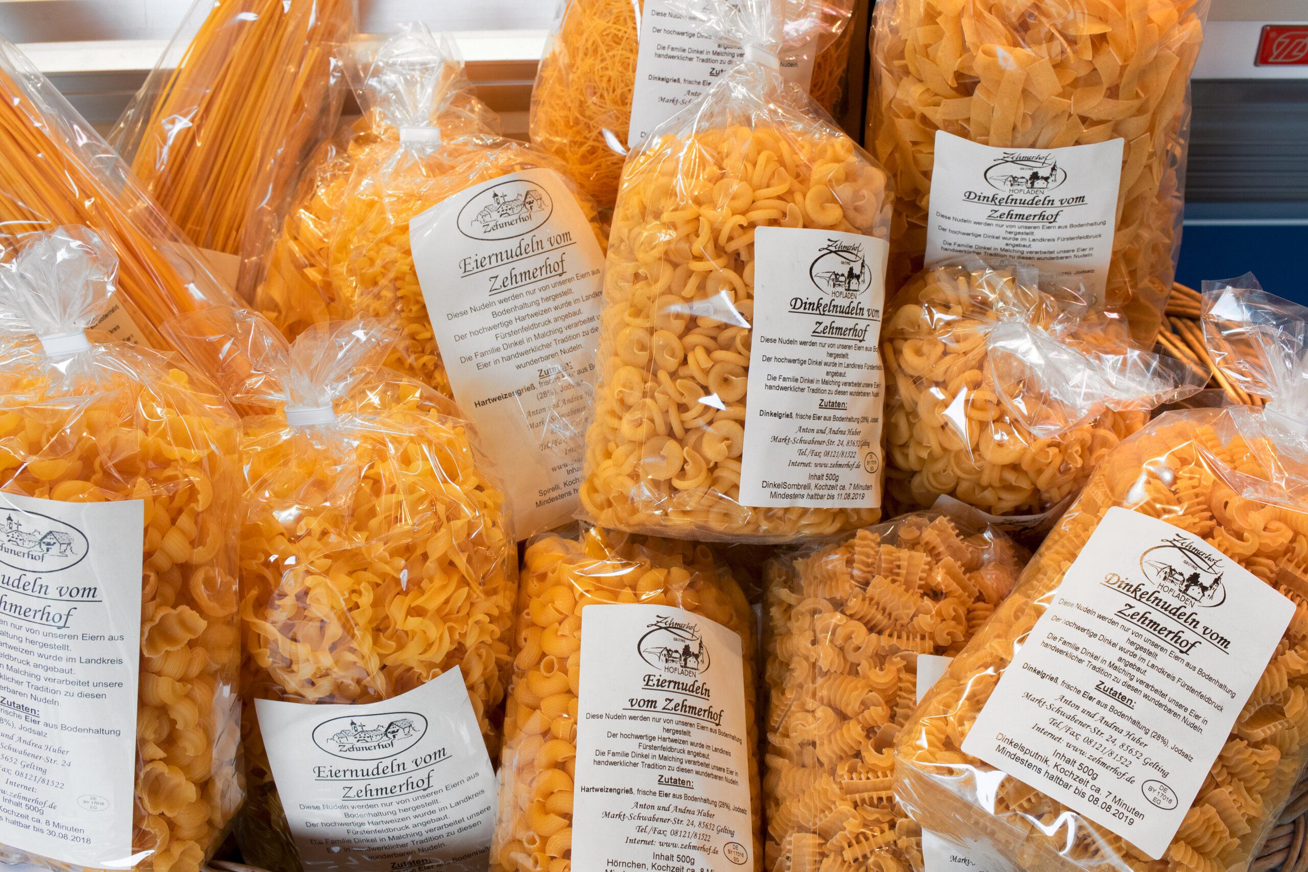 Isener Bauernmarkt Angebotsübersicht Nudeln