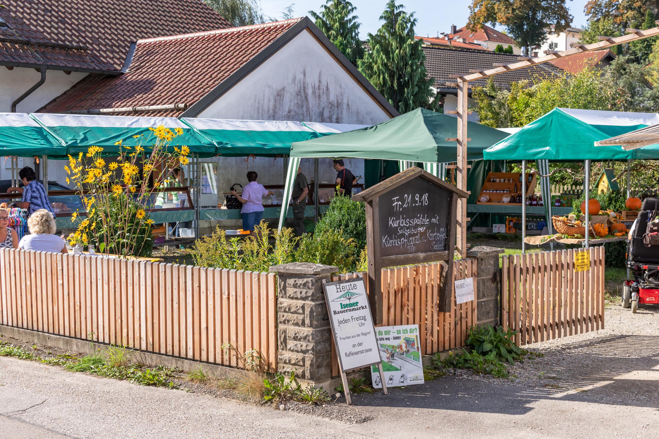 Bauernmarkt-Isen-Markttag